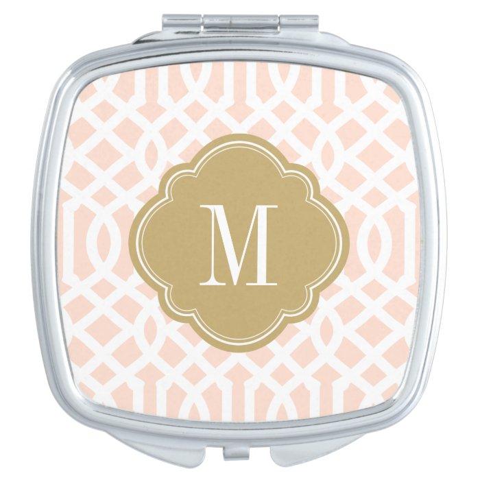 monogram compact mirror