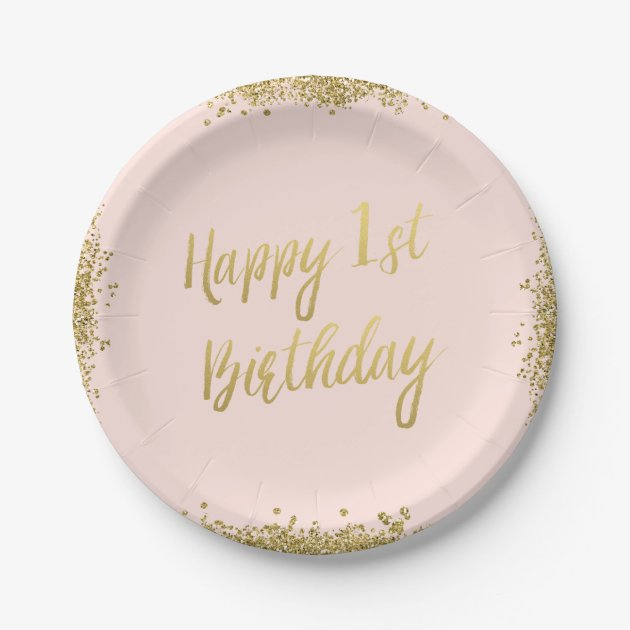 ... First Birthday Paper Plate. SaveEnlarge  sc 1 st  Castrophotos & First Birthday Paper Plates - Castrophotos