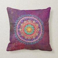 Bohemian Style Pillow | Zazzle