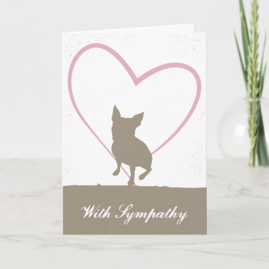 Boston Terrier Pet loss sympathy card Zazzle
