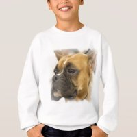 Boxer Dog Face Sweatshirt | Zazzle