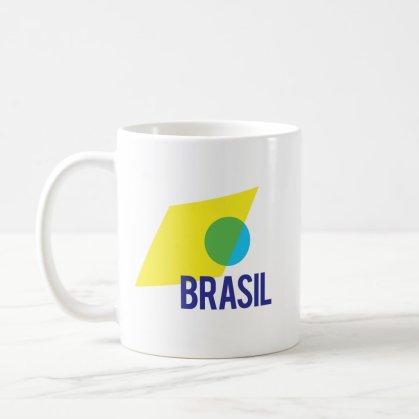 Brasil Flag Coffee Mug