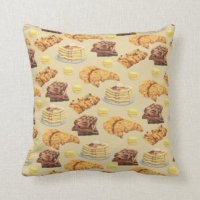 Pancake Pillows - Decorative & Throw Pillows | Zazzle