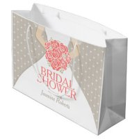 Large Bride Gift Bags - Large Bride Gift Bag Ideas | Zazzle