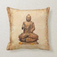 Buddha Throw Pillow | Zazzle