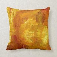 Buddha with Lotus Throw Pillow | Zazzle