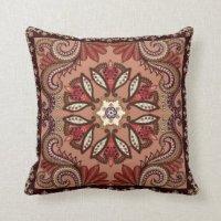 Paisley Pillows - Decorative & Throw Pillows   Zazzle