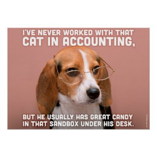 Business Dog Posters