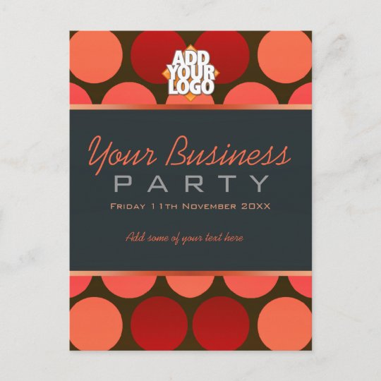 Business Office Workshop Party Invitation template Zazzle