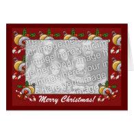 Card Template - Christmas Border