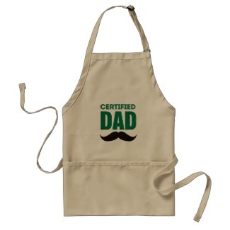 Certified Dad Apron