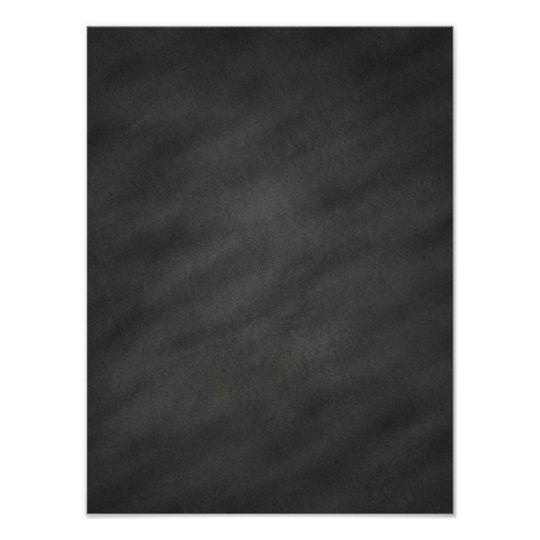 Chalkboard Background Gray Black Chalk Board Blank Poster Zazzle