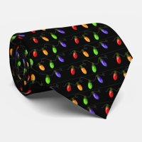 Christmas Lights Tie | Zazzle