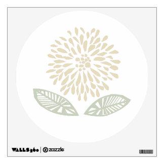 Chrysanthemum Wall Decals Wall Stickers Zazzle
