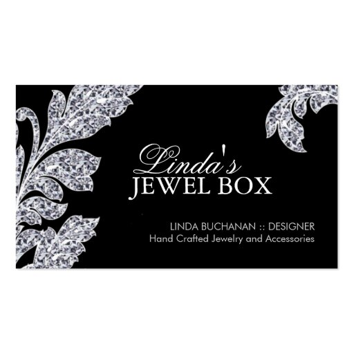 Custom Jewelry Business Plan Sample Bplans Classy Jewelry Designer Business Cards From Zazzle