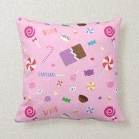 Girls Room   Pretty Throw Pillows