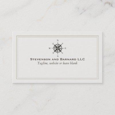 Nautical Compass Business Card Zazzle