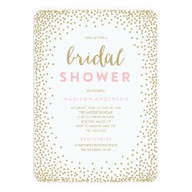 Confetti Shower | Bridal Shower Invitation