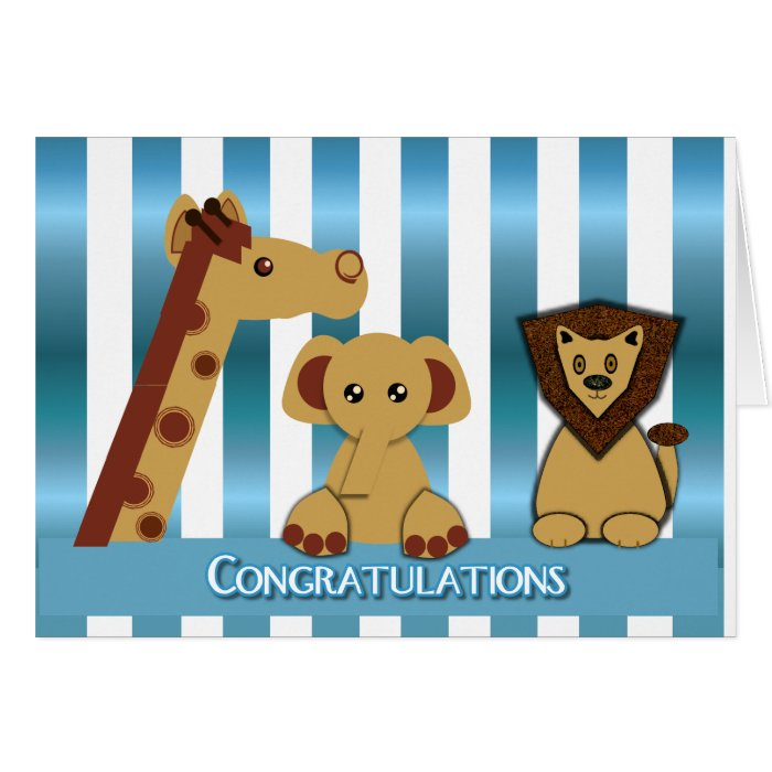 Congratulations, New Baby Boy Cards on PopScreen