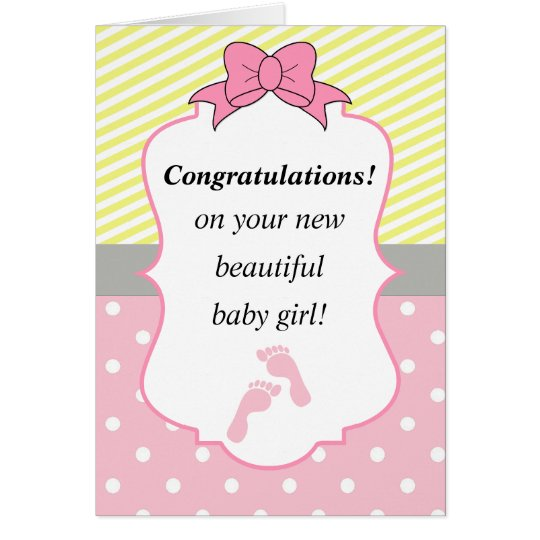 Congratulations On Your Baby Girl Congrats on your baby girl poem