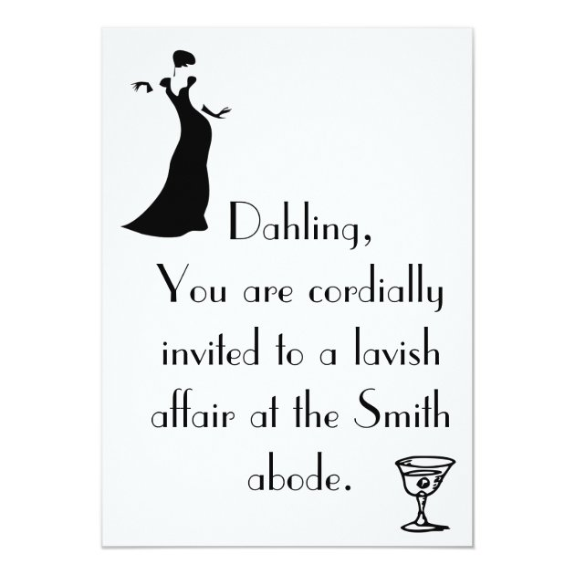 Cordial Invitation Zazzlecom