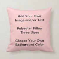 Design My Own Pillows - Decorative & Throw Pillows   Zazzle