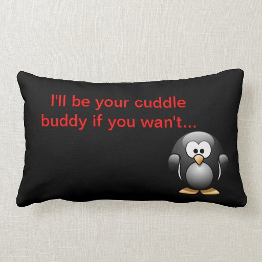 Cuddle Buddy Pillow