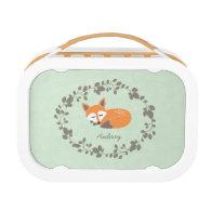 Custom Little Fox Lunchbox