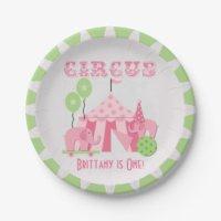 Circus Plates | Zazzle