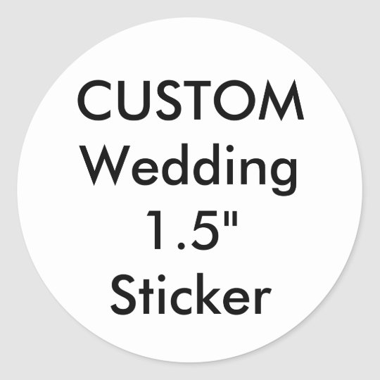 custom label sticker