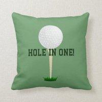 Custom Sports Pillow - Golf Throw Pillow   Zazzle