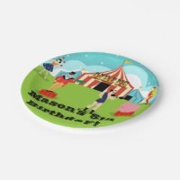 Circus Birthday Invitations and Party Supplies