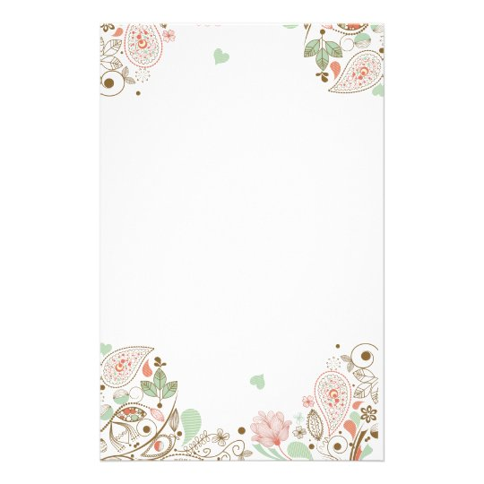 flower stationery google search floral stationery personalized