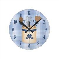 Cute Decorative Kitchen Wall Clock | Zazzle
