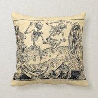Death Pillows - Decorative & Throw Pillows | Zazzle