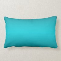 Dark and Light Aqua Blue Gradient - Turquoise Lumbar ...
