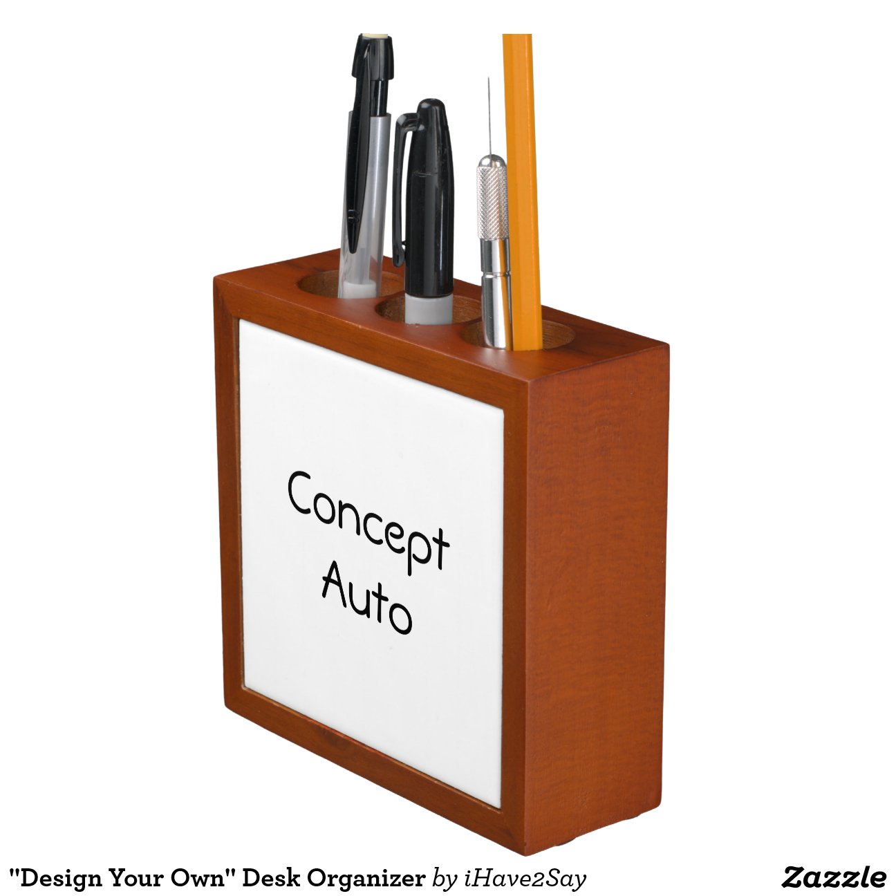 Desk Organizer Design Quotdesign Your Own Quot Desk Organizer Zazzle