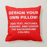 Design Your Own Throw Pillow! Throw Pillow   Zazzle