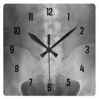 Digital X-Ray Art Wall Clock | Zazzle