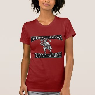 Distressed Hieronimo Is Mad Againe T Shirts
