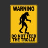 RPG Geeks T-Shirts & Gifts - Do Not Feed the Trolls