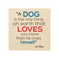 Dog Wood Wall Art, Quote Wood Wall Art | Zazzle