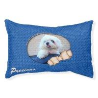Doggie in the Window, Maltese-Small Dog Bed   Zazzle
