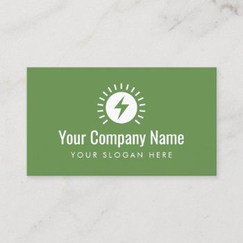 Browse Products At Zazzle With The Theme Electrical Business Cards