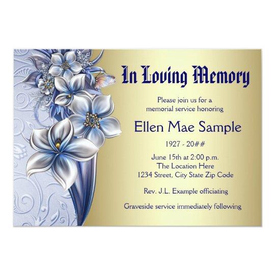 memorial service announcement - Ozilalmanoof - memorial service invitation sample