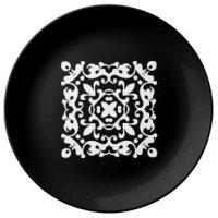 Black And White Decorative Plates | Zazzle