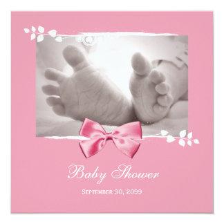 Baby Feet Shower Invitation Boy