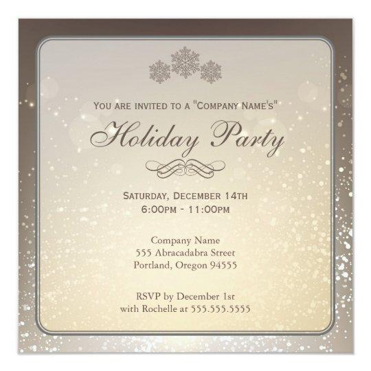 elegant party invitation - Josemulinohouse - holiday celebration invitations