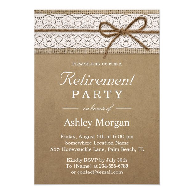 Most Popular Retirement Party Invitations CustomInvitations4U - retirement party card