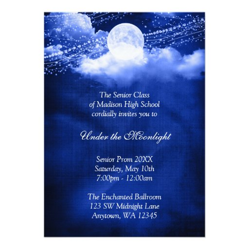 Personalized High school dance Invitations CustomInvitations4U